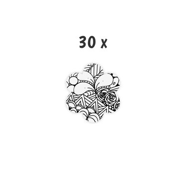 Schoolpakket 30 x Bloem 6-8 jaar Blossom