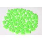 Cristallo Kunststof mozaiek-steentjes ca. 500 gram LICHTGROEN