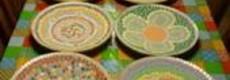 Kunststof mozaieksteentjes op kleur 500 gr.