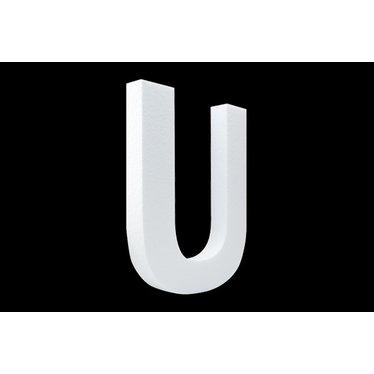 Cristallo Blanco letter U