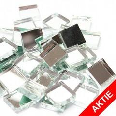 Cristallo Spiegelsteentjes 1x1 cm ca. 220 stuks LOS