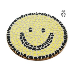 Cristallo Wandbord Smiley