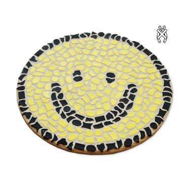 Cristallo Wandbord Mozaiek pakket Smiley