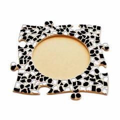 Cristallo Mozaiek pakket Fotolijst Cirkel Zwart-Wit