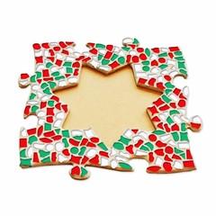 Cristallo Mozaiek pakket Fotolijst Ster Kerst