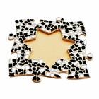 Cristallo Mozaiek pakket Fotolijst Ster Zwart-Wit