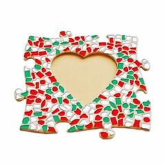 Cristallo Mozaiek pakket Fotolijst Hart Kerst