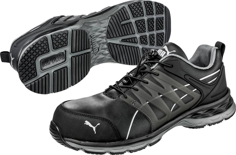 Agri Sport Werkschoenen.Velocity 2 0 Low Black Working Shoes With S3 Esd Hro Src