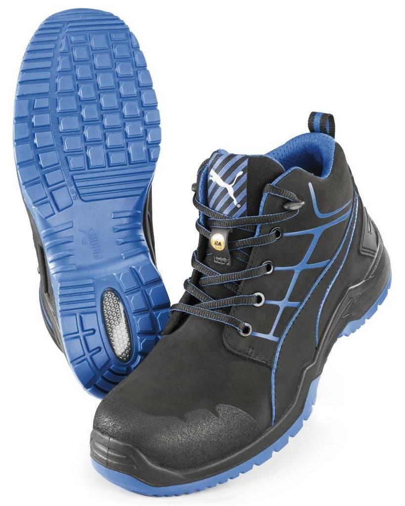 Agri Sport Werkschoenen.Puma Safety Model 63 420 0 Krypton Blue Mid Schoenen S3 Src