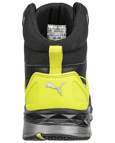 Puma Safety Velocity 2.0 Yellow Mid, S3 ESD HRO SRC