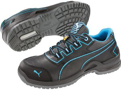 Puma Safety 64.412.0 Niobe Blue Wns Low S3 ESD SRC werkschoenen voor dames