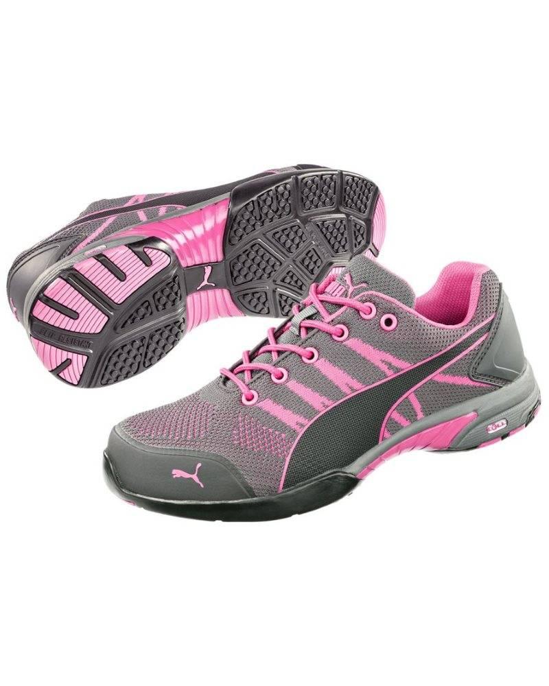 cb5468d247f Puma Safety 64.291.0 Celerity Knit Pink WNS Low S1 HRO SRC ...