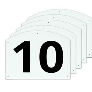 Show Jump cijfers 10 t/m 15 27 x 20 cm