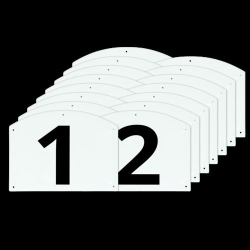 Show Jump cijfers en letters set compleet