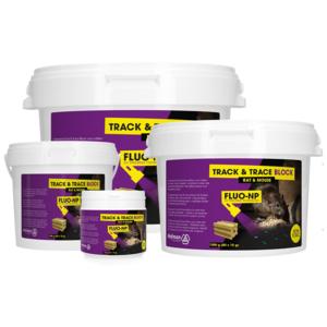 Hofman Pest Control Track & Trace Block Fluo-NP (160x15g)