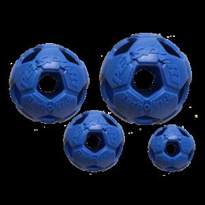 Petsport Turbo Kick Soccer Ball 10cm Blauw