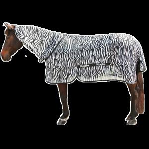 Vliegdeken Zebra incl. nekdeel 195cm
