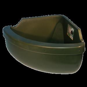 Voerbak DH + antimorsrand 31 ltr EG