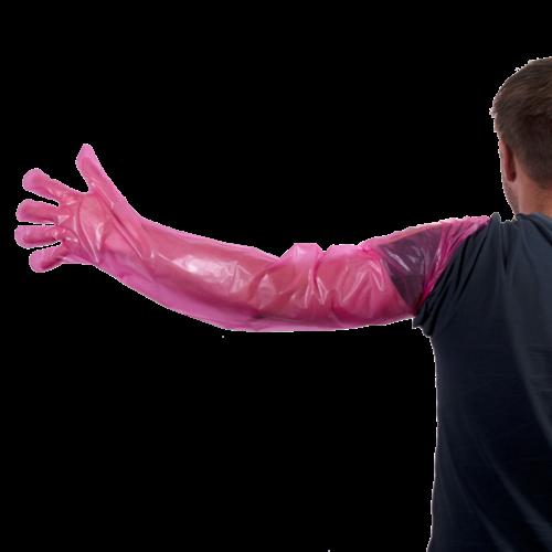 Holland Animal Care Wegwerphandschoenen Vet Roze