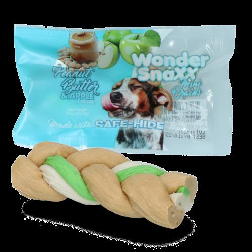 Wonder Snaxx Wonder Snaxx MINI Braid pinda & appel testverpakking