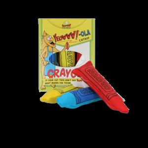 Yeowww! Yeowww!-ola Crayon 3-pk