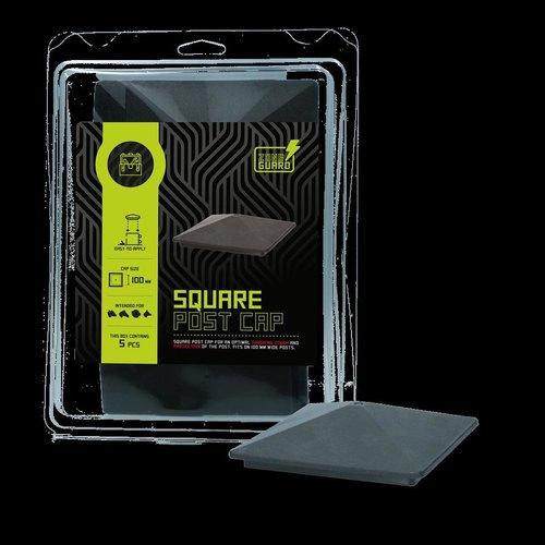 ZoneGuard ZoneGuard Vierkant paalkapje 100 mm