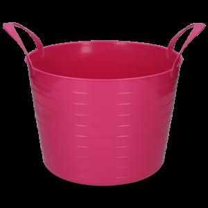 Emmer V-Trug Flexi roze 40 l