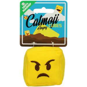 Catmoji Emoji Cat Cube Angry (met MadNip)