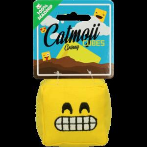Catmoji Emoji Cat Cube Grinny (met MadNip)