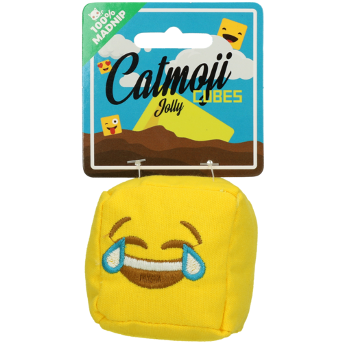 Catmoji Emoji Cat Cube Jolly (met MadNip)