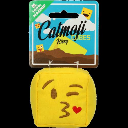 Catmoji Emoji Cat Cube Kissy (met MadNip)