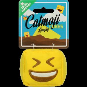 Catmoji Emoji Cat Cube Laughy (met MadNip)