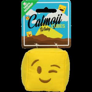 Catmoji Emoji Cat Cube Winky (met MadNip)