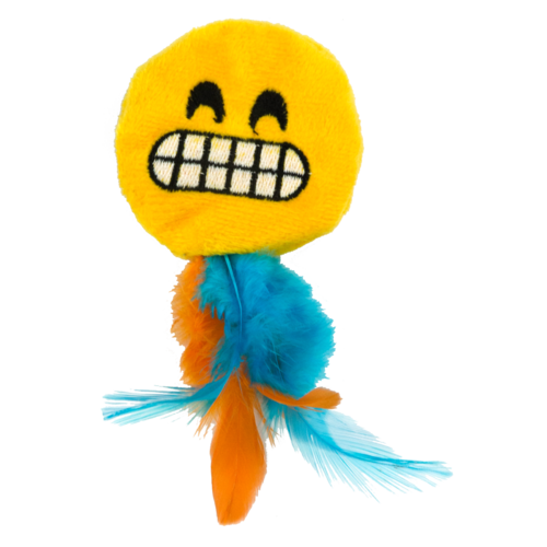 Catmoji Emoji Cat Grinny (met MadNip)