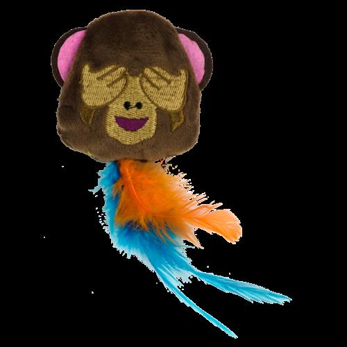 Catmoji Emoji Cat Monkey (met MadNip)