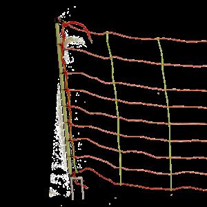 Euro-Net Combi 106 cm dubbelpunt