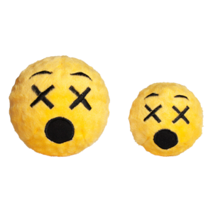 Fabdog FabDog Cross Eyed Emoji  Faball S 7,6 cm