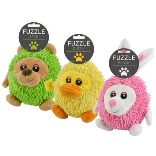 Fuzzle Fuzzle Bear with squeaker