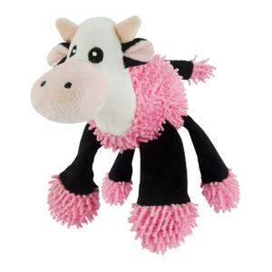 Fuzzle Fuzzle Cow with 5 squeakers