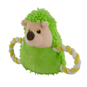 Fuzzle Fuzzle Hedgie Pull Me Green
