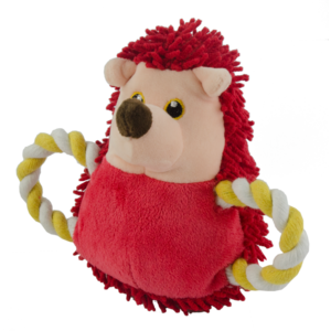 Fuzzle Fuzzle Hedgie Pull Me Red