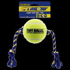 Petsport Giant Tuff Ball Tug 48cm, Rope 23cm