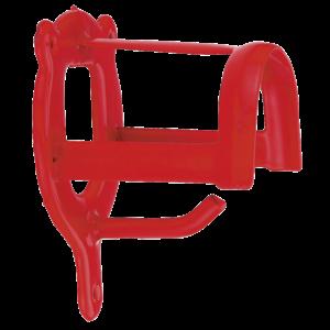 Kerbl Halsterhouder metaal rood