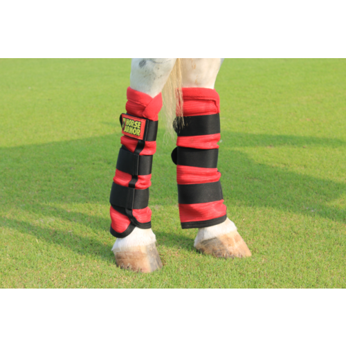 Horse Armor Horse Armor knockdown leg wraps one size (Insect shield)