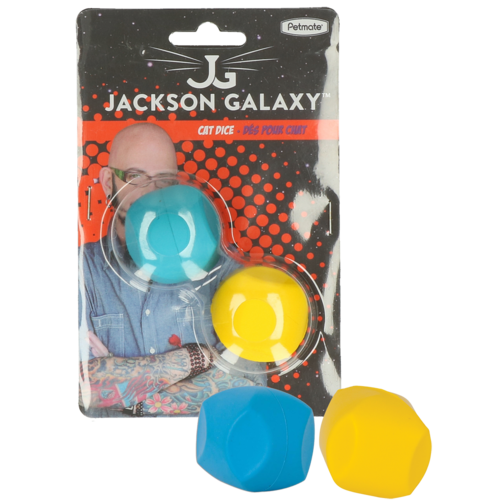 Jackson Galaxy Jackson Galaxy Cat Dice Rubber & Soft