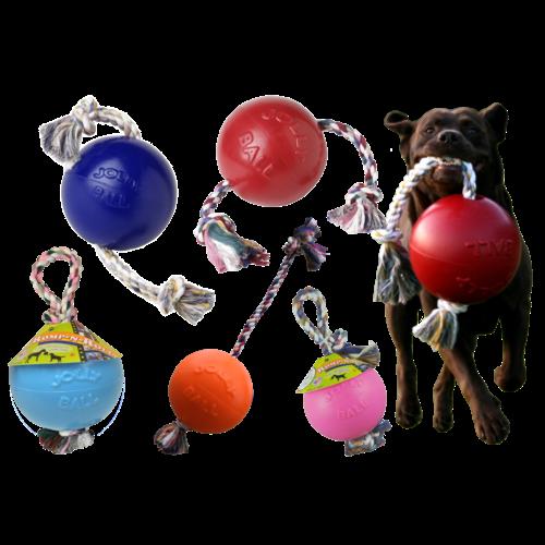 Jolly Pets  Jolly Ball Romp-n-Roll 10 cm Rood
