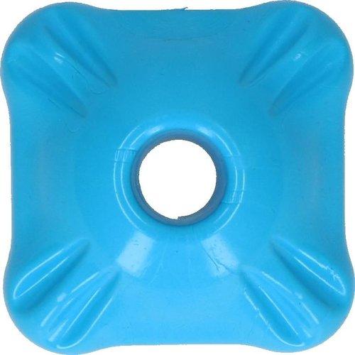 Jolly Pets Jolly Flex-n-Chew Squarble blauw medium