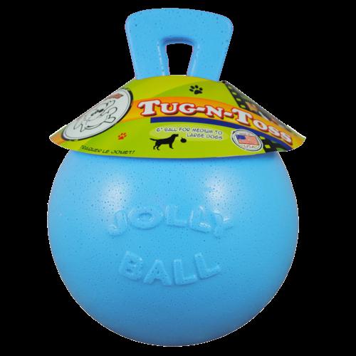 Jolly Jolly Tug-n-Toss 10 cm Baby Blauw (Bosbessengeur)
