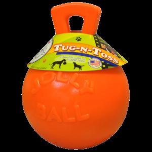 Jolly Pets  Jolly Tug-n-Toss 10 cm Oranje (Vannilegeur)