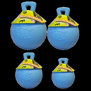 Jolly Jolly Tug-n-Toss 15 cm Baby Blauw (Bosbessengeur)